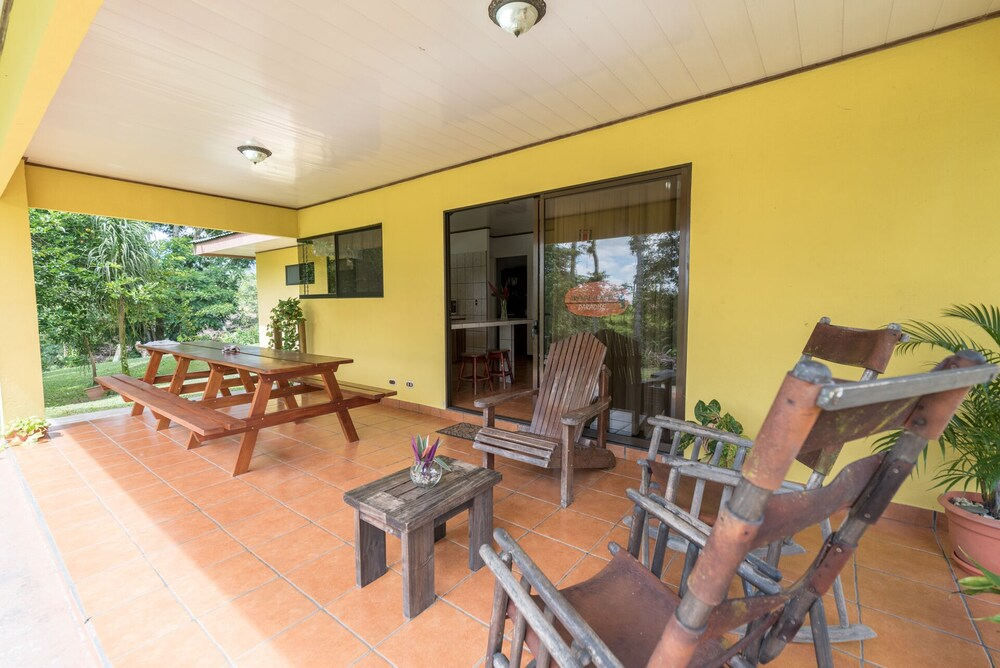 Balcony, Arenal Luxury Paradise Sloths, Toucans, Colorful Birds, Frogs and Much More!