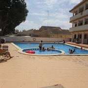 6 bed Apartment 600 m From Roda Golf Course With a Roof Terrace and Pool