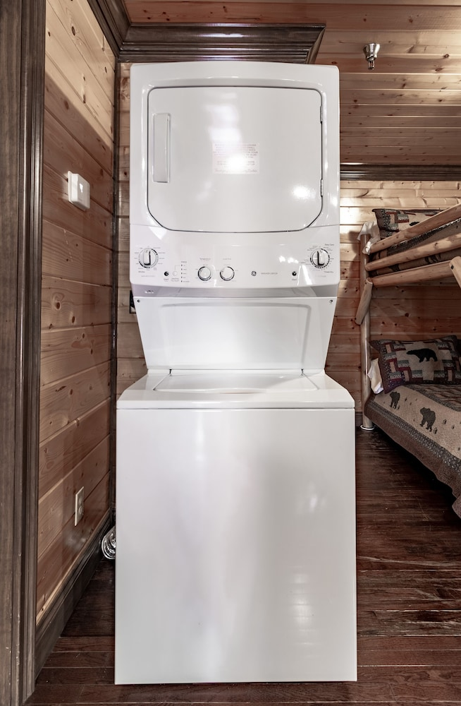 Laundry, Unit 462 is a True Rustic Family Condo/cabin With Washer and Dryer