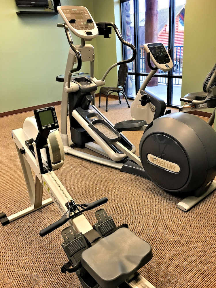 Fitness Facility, Unit 462 is a True Rustic Family Condo/cabin With Washer and Dryer