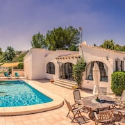 Beautiful Tranquil Detached 3 Bed Character Villa Javea Spain Private Pool Wi-fi