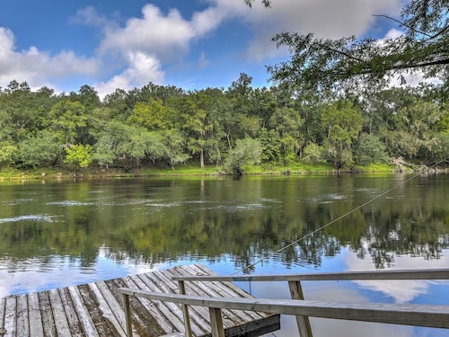 Great Place to stay New! 2BR Live Oak House On River w/ Private Dock! near Live Oak