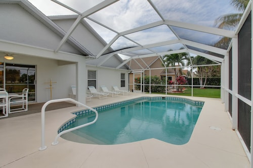 Check Expedia for Availability of Quiet Fort Myers Getaway w/ Private, Screened-in Pool; Close to Beaches & Golf