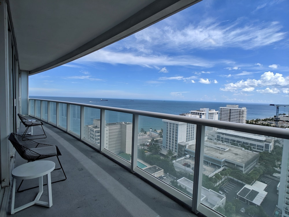 Balcony, Modern Luxury Beachfront Hotel 2 Bedroom With Great Views and 3 Balconies 18