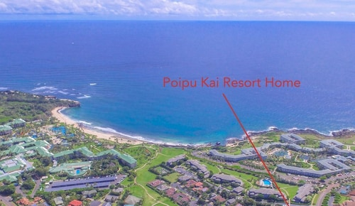 Aloha Homes, Poipu Vacation Homes, Poipu Kai Resort Home, Walk to Beach