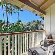 Waikomo Stream Villas #132: Great Garden Views in a Central Poipu Location!