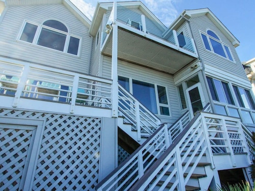 Oceanfront Home With Private Boardwalk, Elevator, and Garage