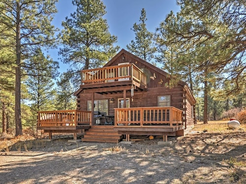 1br Pagosa Springs Cabin W Expansive Two Story Deck