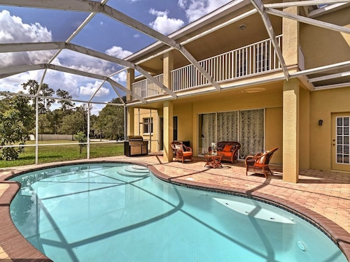Check Expedia for Availability of New! 5BR Wesley Chapel Home W/private Lanai & Pool