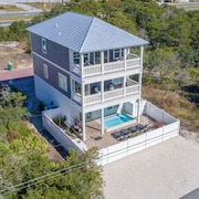 Sand In My Soul -inlet Beach Home, Private Pool, Close to Beach, 4 Bikes
