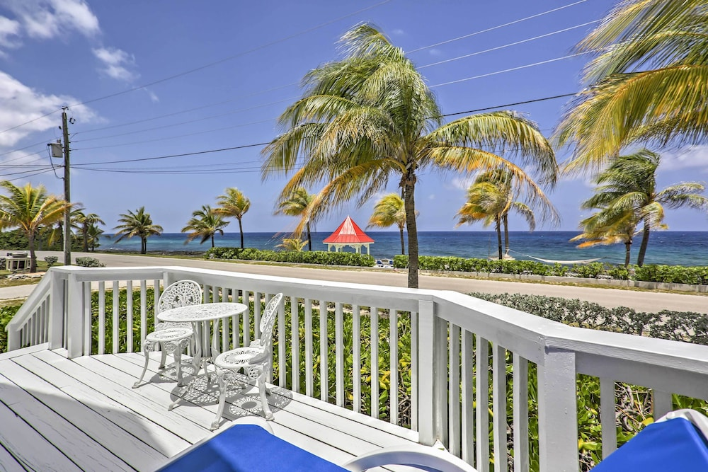 Balcony, Lovely Stake Bay 'sea Dreams Villa' W/ocean Views!