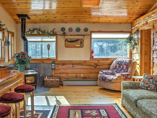 Great Place to stay New! Rustic 1BR Montello Apartment w/ Lake Views! near Montello