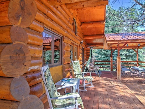 Check Expedia for Availability of Rustic Rapid City Log Cabin - Near Mount Rushmore!