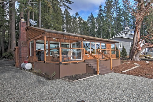 New! 2BR Poulsbo Waterfront House on Liberty Bay!