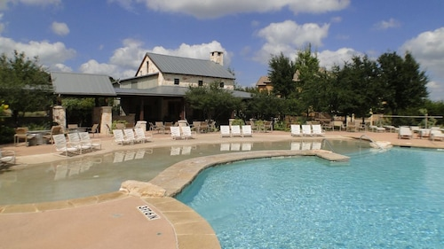 Great Place to stay Condo Located in The Hollows Resort With Pool, Lake Access, Gym, Restaurant near Jonestown