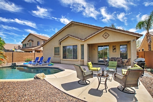 Remarkable 4br Queen Creek Home W Private Pool