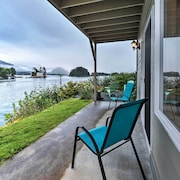 New! Waterfront 3BR Sitka Townhome W/scenic Views!