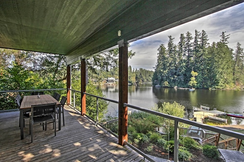 Renovated 3br Olympia Cabin W Private Dock On Lake