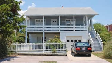 Delightful duplex located just across the street from the beach and pier