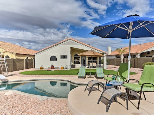 Check Expedia for Availability of New! 3BR Goodyear House w/ Pool & Sunset Terrace!
