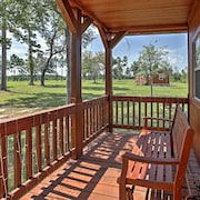 New! 1BR Plantersville Cabin on Nearly 50 Acres!