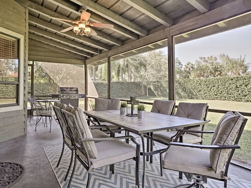 Check Expedia for Availability of Cozy Longwood Home W/screened-in Porch & Gas Grill