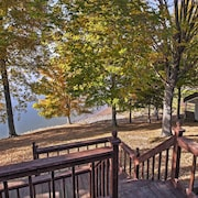 New! Waterfront 3BR Cadiz House W/spacious Deck!