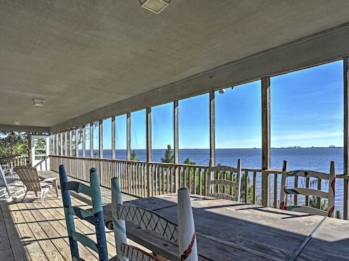 Great Place to stay Waterfront Lillian House w/ Stunning Bay Views! near Lillian