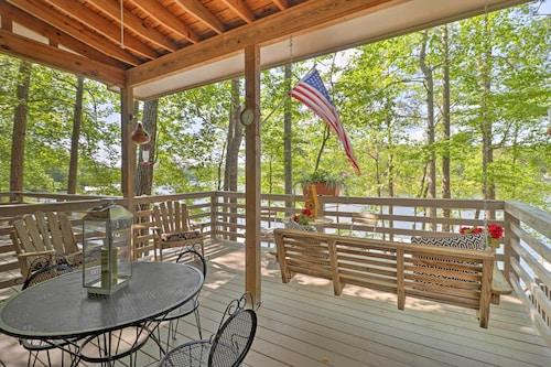Spacious Waterfront Townhouse W/private Deck & Dock!