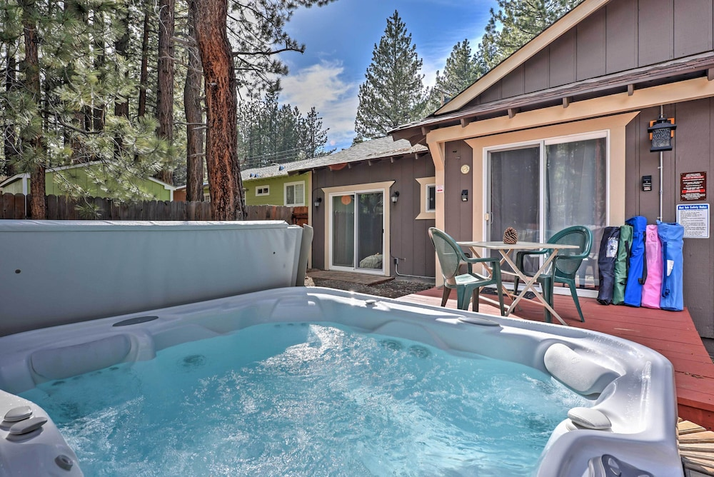 South Lake Tahoe Cabin w/ Hot Tub - Walk to Lake!: 2018 Room Prices ...