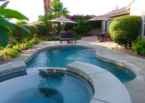 Great Place to stay Beautiful Pool Home on the Golf Course near Indio