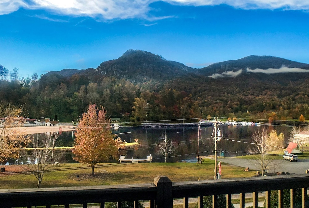 Balcony, Lake Walk - Mr. Lake Lure Vacation Rentals