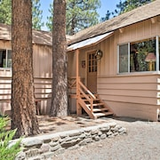 'rustic Acorn' Wrightwood Cabin W/deck, Walk to DT