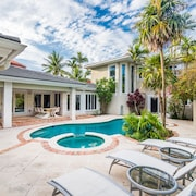 Luxurious 5 Bedroom Heated Pool Home Just Steps From Fort Lauderdale Beach!!!