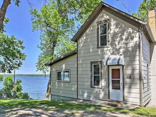 Check Expedia for Availability of New! 2BR Big Stone City Cabin W/lakefront Views!