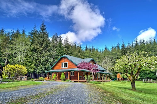 Delightful Home On 10 Acres Mins To La Push