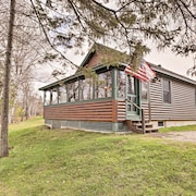 2br Rangeley Cabin On Lake W Mtn Views
