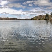 Lakefront 2br Balsam Lake Cabin W Private Dock