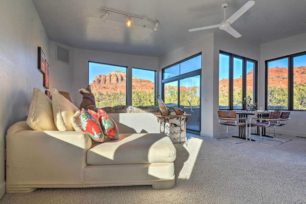 Featured Image, 2-acre Sedona Casita w/ Deck & Red Rock Views!