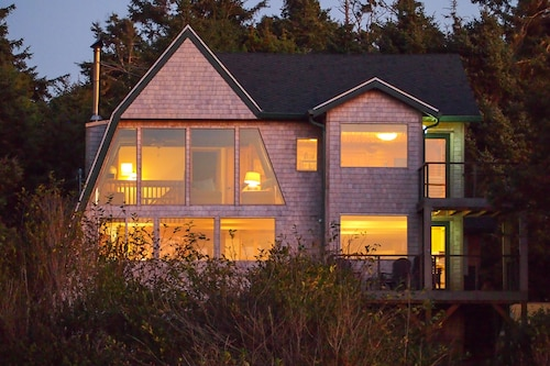 Check Expedia for Availability of Family-friendly Home With Private hot tub & Beach Access - Ocean & Lake Views!