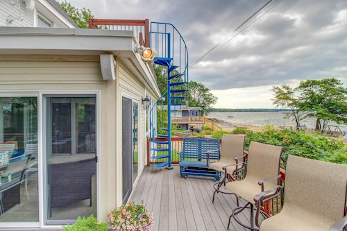 Check Expedia for Availability of Lakefront Home w/ Water Access, Views of the Mountains, Private Deck & Patio