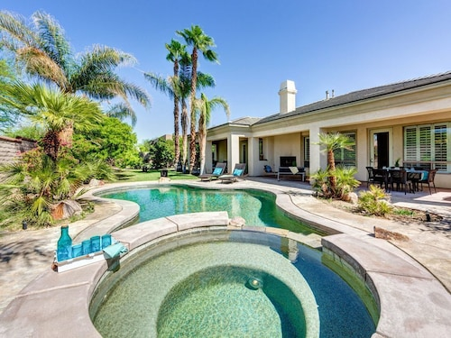 Great Place to stay Private Villa w/ Garden, Pool & Spa Sleeps 12! near Indio