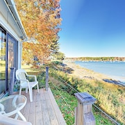 Ocean Waterfront 3 Br Near Round Pond Harbor Village Maine