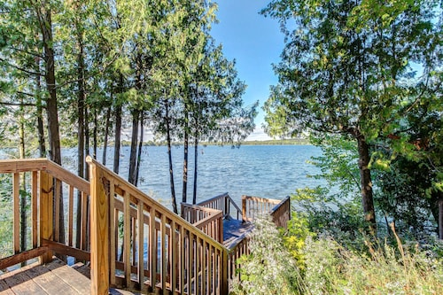 Check Expedia for Availability of Cozy Cottage w/ Dock, Kayaks, & Canoe - Come Enjoy Lakeside Living!