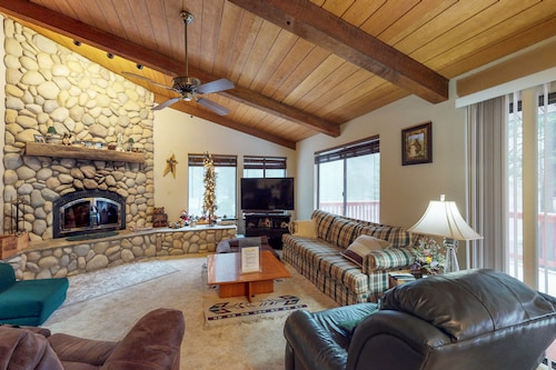 Check Expedia for Availability of Dog-friendly, Cabin-style Home w/ Deck & Great Location Close to Shaver Lake