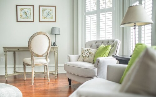 Great Place to stay Stay Local in Savannah: Luxury Townhome w/ Courtyard in Quiet Neighborhood near Savannah