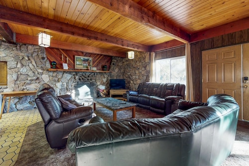 Check Expedia for Availability of Dog-friendly, Mountain Cabin w/ a Great View & Location a few Miles From Town!