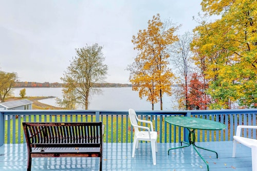 Check Expedia for Availability of Charming Lakefront Home w/ Private Beach and Gorgeous Views - Dogs ok