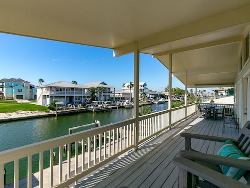 Check Expedia for Availability of Happy Place 4BR House w/ Boat Dock and Patio for Lazy Days and Hot Tub Nights