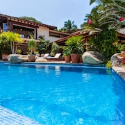 Tropical Garden Retreat in Puerto Vallartas Sierra del Mar Sparkling Pool